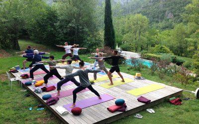 Stage Yoga ferme Marion août 2015 – Vacances de Yoga à la Ferme de Marion