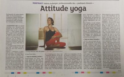 Attitude Yoga, portrait de Valérie