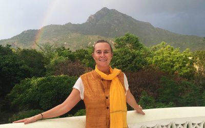 Valérie AUBERGER, professeur de yoga organise les séjours en Inde